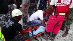 В Эквадоре разбирают завалы после сильного землетрясения