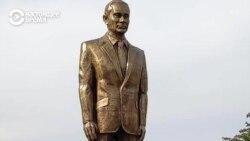 В Кыргызстане установили памятник Путину