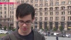 Пешком на границу: нацбол из РФ Александр Шелковенков просит политубежища в Украине