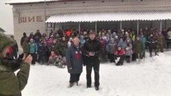 На станции Шиес активисты ждут разгона палаточного городка