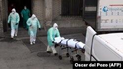 Госпиталь в Мадриде. 25 марта 2020 года
