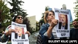 Демонстрации в Стамбуле в поддержку пропавшего журналиста