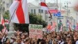Азия: 200 тысяч человек на улицах Минска