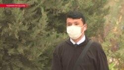 Таджикистан накрыла пыльная буря, дышать везде, за исключением севера, практически нечем