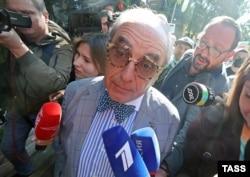 Адвокат потерпевших по делу Ефремова Александр Добровинский. Фото: ТАСС