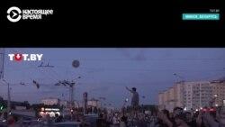 Второй день протестов в Беларуси