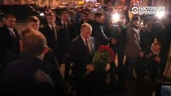 Что сказал Путин, когда пришел возложить цветы к месту теракта в метро Петербурга