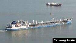 Neyma (Lenaneft 70) танкер на Дунае, фото shipspotting.com