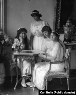 Дочери императора Николая II. 1914 год