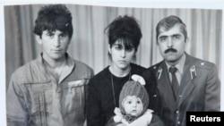 Джохар Царнаев и его семья