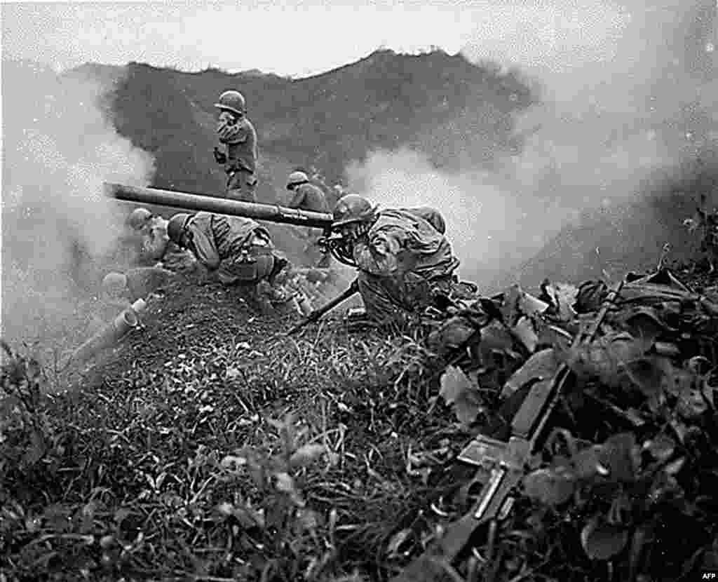 С 1950 по 1953 г. советские войска участвовали в Корейской войне, разделившей полуостров на две части. Стороны до сих пор не объявили перемирия и время от времени обстреливают друг друга