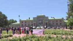 В Бишкеке люди вышли на демонстрацию против ограничения свободы интернета