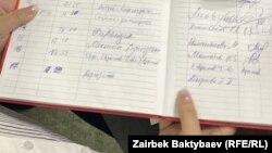 Журнал регистрации партий
