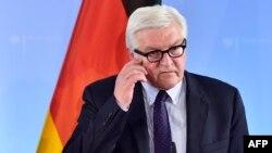 Глава немецкого внешнеполитического ведомства Франк-Вальтер Штайнмайер
