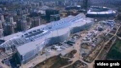 Строительство выставки Экспо в Казахстане