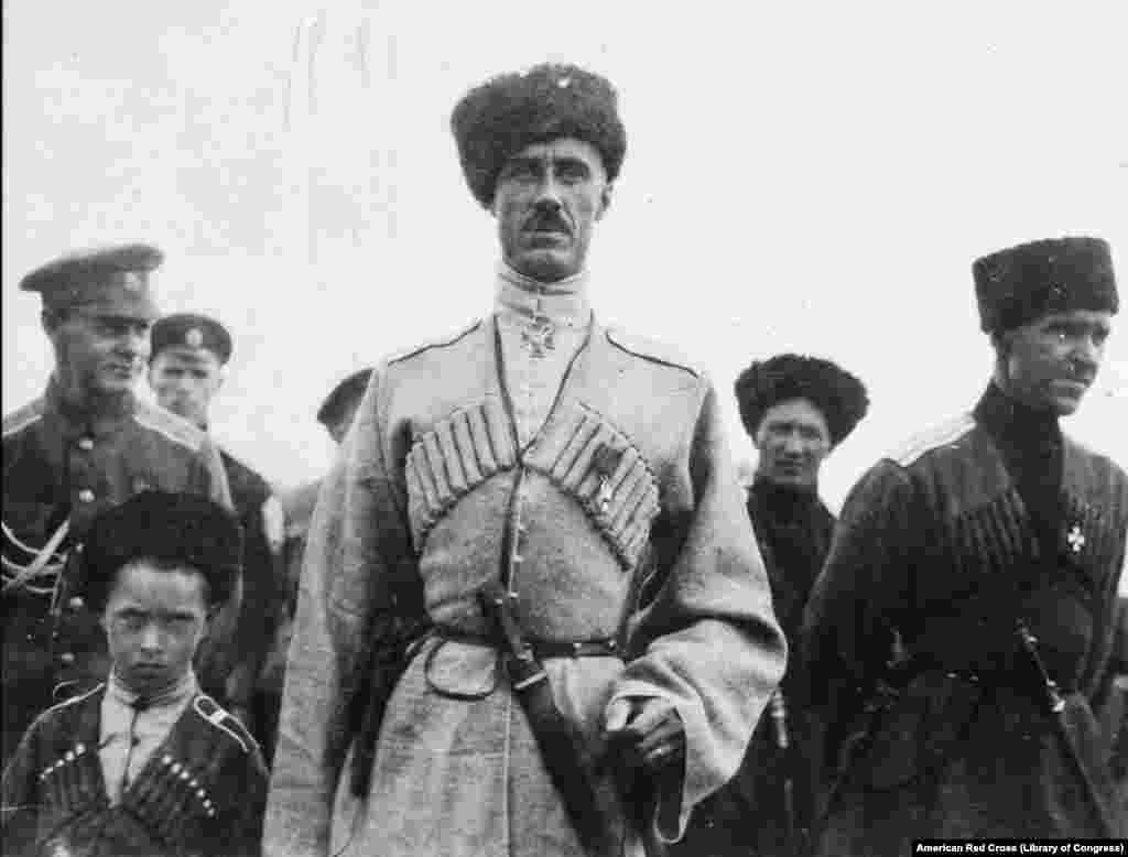 Руководитель Белого движения Петр Врангель, 1919 год