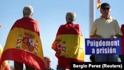 Сторонники единства Испании и Каталонии собираются на акцию в Мадриде