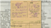 Latvia KGB archive Kudryashov agent card