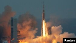 """Запуск космического аппарата """"Орион"""""""
