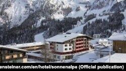 Отель в Австрии, предположительно купленный в интересах Ротенберга