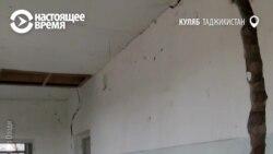 В таджикском селе разваливается школа, построенная на деньги Всемирного банка