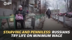 Starving, Weak, And Penniless: Russians Try Life On Minimum Wage