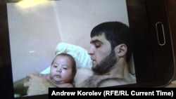 Рустам Назаров с сыном Умарали незадолго до его смерти
