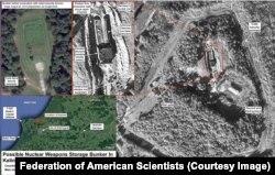 Спутниковые снимки, опубликованные Федерацией американских ученых