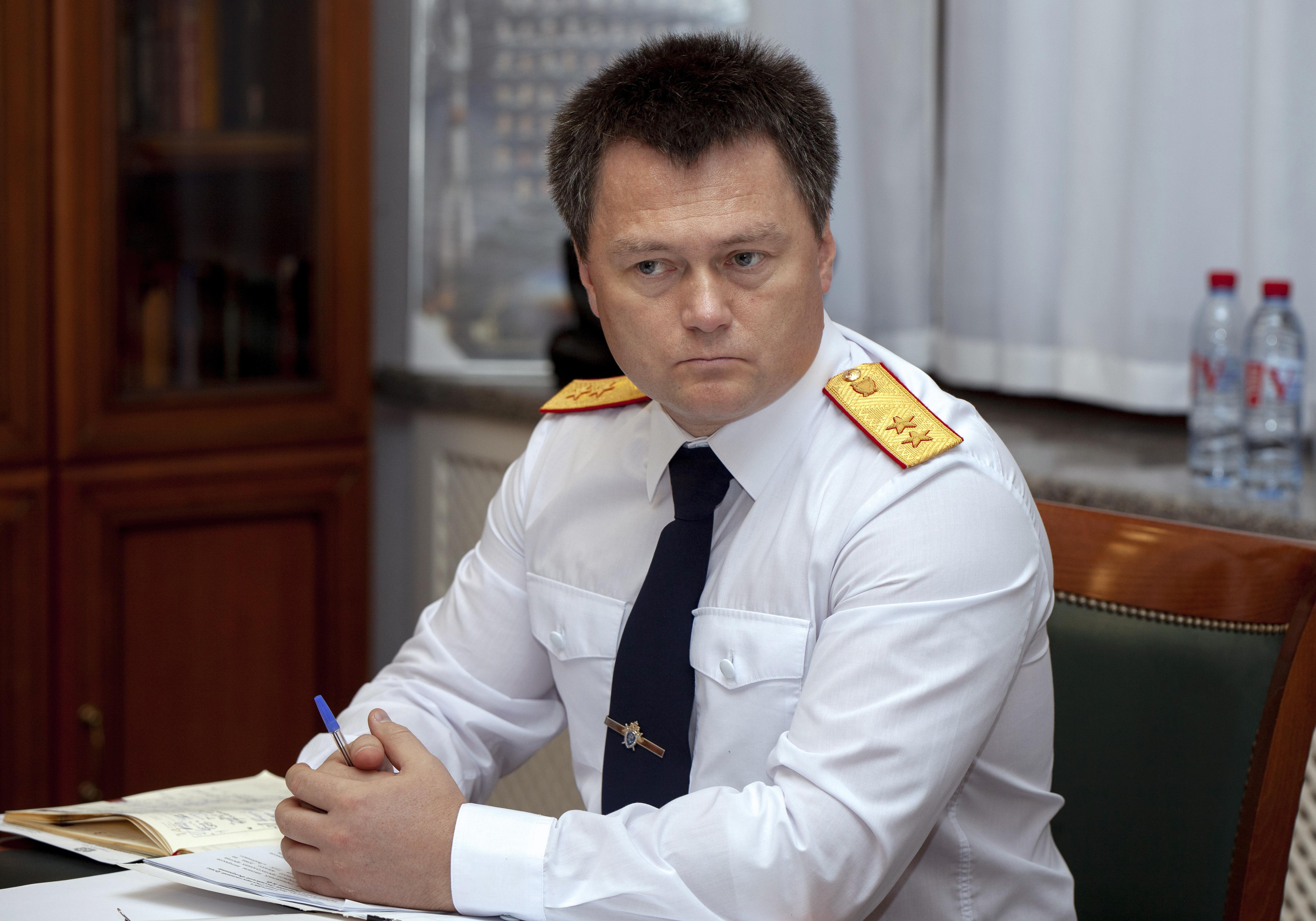 Игорь Краснов. Фото: пресс-служба Следственного комитета