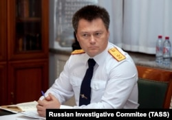 Igor Krasnov in an undated official photo from Russia's Investigative Committee