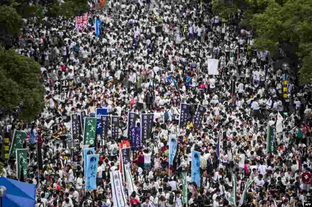 Забастовка студентовуниверситета Гонконга