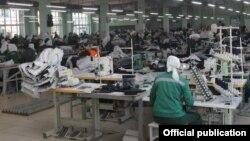 Швейный цех в колонии №14 в Мордовии