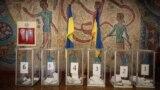 Выборный участок в Киеве
