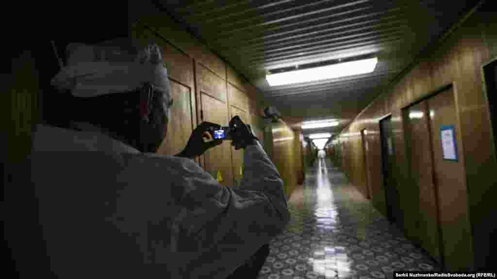 """""""Золотой коридор"""" Чернобыльской атомной. Он соединяет все блоки станции, в том числе, и разрушенный четвертый"""