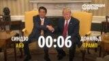 Крепкое рукопожатие Трампа: сколько оно длится с разными политиками?