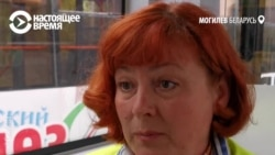 Кондуктор троллейбуса в Могилеве учит белорусскому языку пассажиров