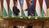Мирзиёев приехал с визитом в Таджикистан: как это было и о чем договорились