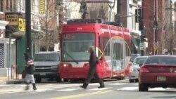 На улицы Вашингтона вернулись трамваи