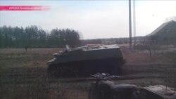 """""""Чем больше янтаря добывают, тем больше оружия"""": стрельба и бронетехника на западе Украины"""