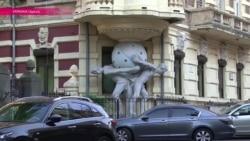 """В Одессе разрушается знаменитый """"Дом с атлантами"""""""
