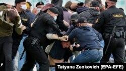 Задержания в Минске, 14 июля 2020 года