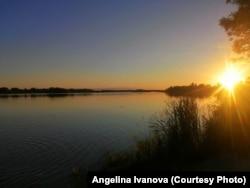 Смолинское озеро в Палкинском районе Псковской области