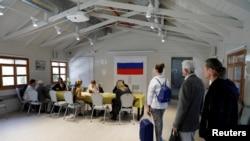 Избирательный участок в Израиле