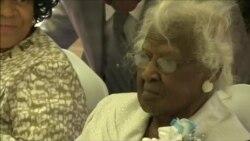 Старейшая жительница Земли отметила свой 116-й день Рождения