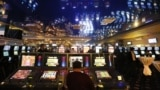 Russia -- The interior of the newly open casino ORACUL in the Azov City gambling zone, Krasnodar territory, November 1, 2014