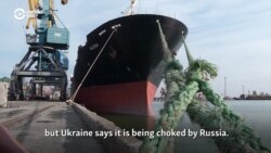 Ukraine's Mariupol Port Struggles To Stay Afloat Amid Russian 'Hybrid War'