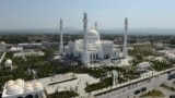 Shali, Russia - mosque named after the Prophet Mohammed / A general view shows a mosque named after the Prophet Mohammed, the largest in Europe according to local authorities, during an inauguration ceremony in the Chechen town of Shali, Russia August 23,