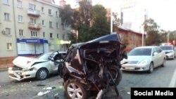 Авария в Иркутске, виновницей которого предположительно была Юлия Есева