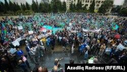 Митинг в Баку