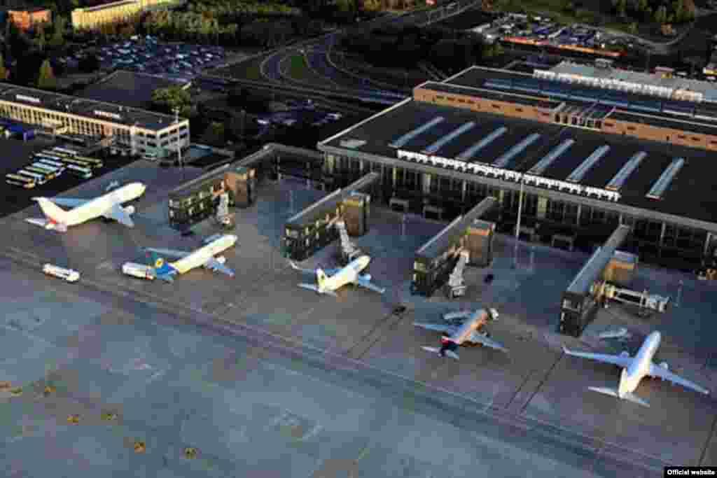 Аэропорт Донецк. 27 июня 2012 года. Официальный сайт.